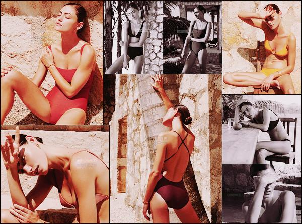 • • Découvrez/redécouvrez un tout nouveau photoshoot de Phoebe pour Matte Swim ! Phoebe a posé sous l'objectif d'Alexandra Nataf, vêtue des nouveaux maillots de bain de la marque Matte Swim. Elle est somptueuse !
