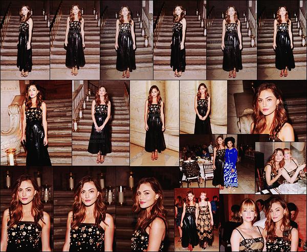• Apparition publique  - 02/06/2016 : Phoebe  s'est rendue à un dîner organisé par Chanel à New York ! Notre belle australienne fait partie du cercle restreint de Chanel et apparaît cette fois-ci au diner donné au New York Public Library !
