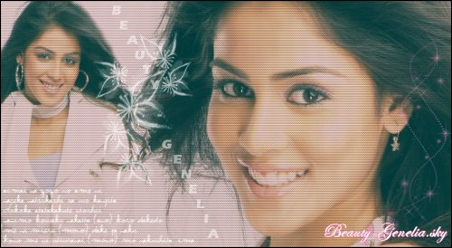 Article n°4 »»» Genelia Ad's ♥