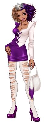 Pour le concours Violett'attitude ! ( 49soIN )