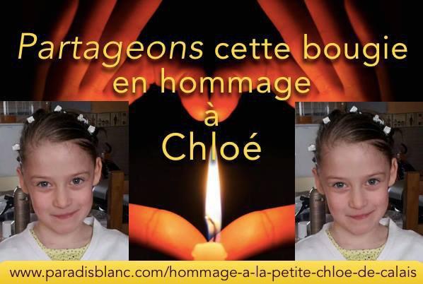 bonsoir je passe pour partager la peine qu'ont n'a pour la famille de la petite fille chloé toute nos condoléance a la famille