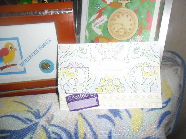 Bonjour mon amie Roselyne j'ai bien reçue votre carte aujourd'hui vendredi elle est vraiment très très belle pour mon anniversaire et en plus aujourd'hui j'ai eu un cadeau de mon mari qu'il avait commender pour moi pour mon anniversaire en mème temps ces un bijoux c'est le collier et le coeur de juliette c'est magnifique et j'ai eu d'autre cadeaux