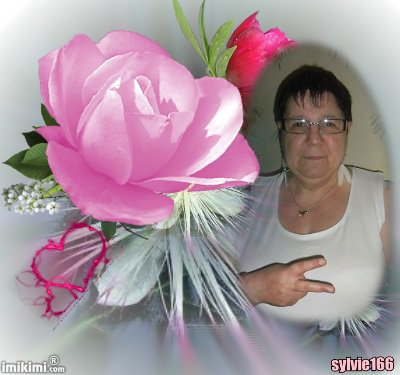 bonjour mon amie sylvie166 avant tout j espère que tu vas bien moi sa vas je travaille cette après midi toujours dans le repassage et c est dur dur mon amie sylvie166 j ai ètè très heureuse pour ce magnifique cadeau que j aime beaucoup avec les roses et je te fais tout plein de gros bisous du coeur ton amie gisèle car l amitiè c est très sacrè pour moi dans mon coeur