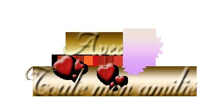 bonsoir mes amies et amis j espère que vous allez bien je vous souhaitent de pensèe un très dimanche car nous demain nous allons a st valery chez nos témoins de mariage et mercie du fond du coeur pour les commentaires que j aime beaucoup et je vous fait tout plein de gros bisous du coeur ton amie gisèle car l amitiè c est très sacrè pour moi dans mon coeur