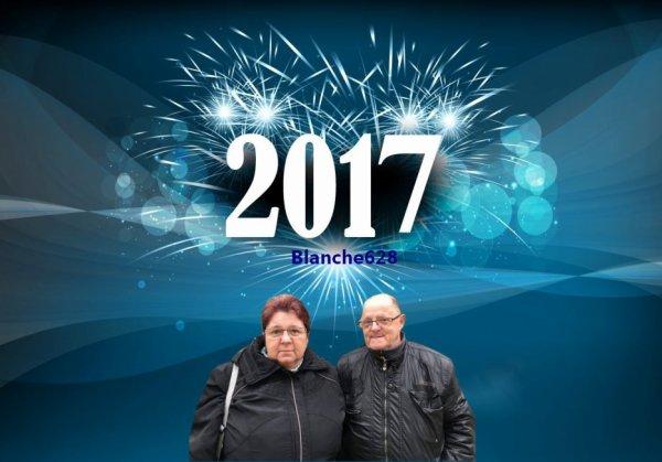 bonjour mon amie blanche628 escuse-moi ont n'était en panne de pc mercie quand mème pour ces magnifique cadeau de nouvel ans je vous souhaitent mes meilleurs voeux pour 2017 joie bonheur et surtout la santé je te fais tout plein de gros bisous