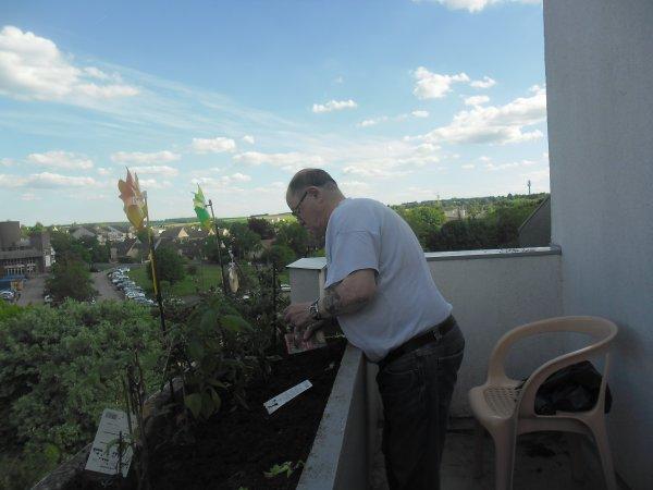 bonsoir mes amies et amis et voici quelques photos de mon balcon que j aime beaucoup et j espère que vous allez bien et je vous souhaitent une très belle soirèe a vous tous et je vous fais tout plein de gros bisous du coeur a vous tous ton amie gisèle car l amitiè c est très sacrè pour moi dans mon coeur avec vous tous
