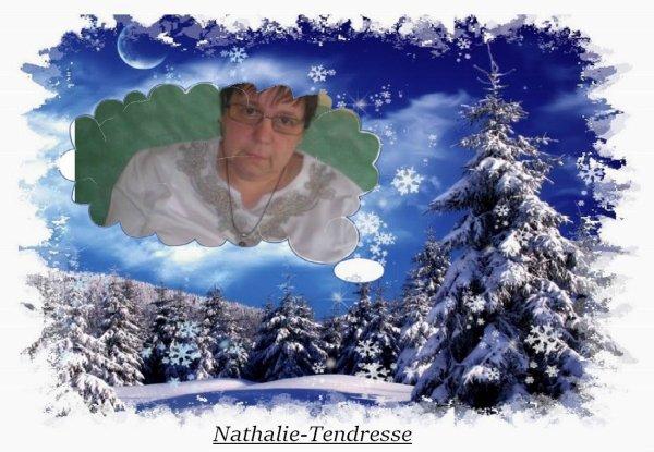 bonsoir mon amie Nathalie-Tendresse au que c'est gentil de m'offrire un magnifique cadeaux qui ma fait très plaisir j'espère que tu vas bien moi je vais mieux je te souhaite une très bonne soirée je t'envoie tout plein de gros bisous