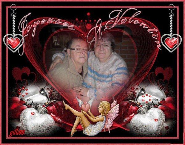 bonsoir mon amie gilli88 un grand mercie ce super cadeaux de la ST Valentin  qui ma fait très plaisir je te souhaite une très belle soirée et je t'envoie tout plein de gros bisous