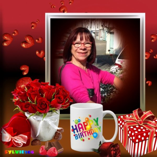 bonjour mon amie Sylvie166 j espère que tu vas bien Qu'es ce que c'est très gentil de m'offrire un jolie cadeaux pour ma soeur que j aime de tout mon coeur mercie pour tout car il et très magnifique je te fait tout plein de gros bisous du coeur ton amie gigidu8080