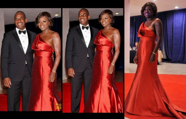 Viola Davis - White House Correspondents' Dinner  avril 2012