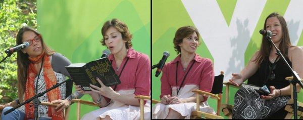 Margaret et Kami au LA Times Festival of Books 2012