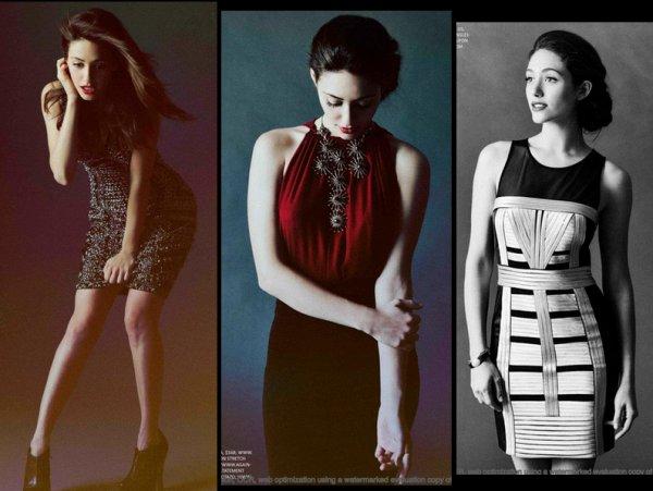 Photoshoot d'Emmy Rossum pour Zooey Magazine Janvier 2012