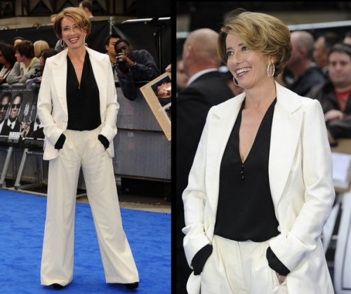 Photos d'Emma Thompson à l'avant première de Men in Black 3 à Londres le 16 mai 2012