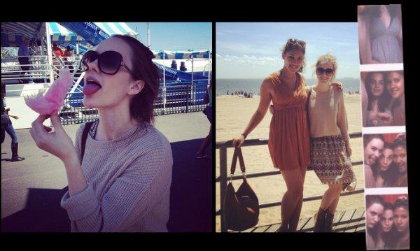 Photos twitter de Rachel Brosnahan du mois de mai