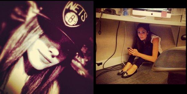 Photoshoot d'Emmy Rossum sur sont twitter et facebook 2
