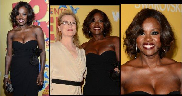 Viola Davis a reçu le Crystal Award pour l'Excellence dans un film le 12 juin 2012