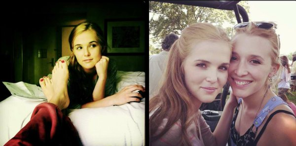 Photos de Zoey Deutch via twitter