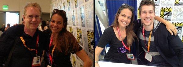 Margaret Stohl au San Diego Comic Con 2012