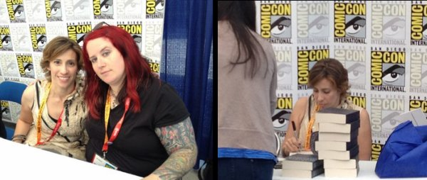 Kami Garcia au San Diego Comic Con 2012 photos + interview
