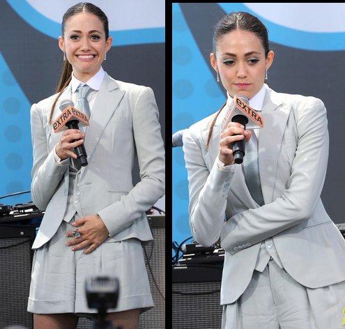 Emmy Rossum au Comic Con 2012 pour sa série Shameless