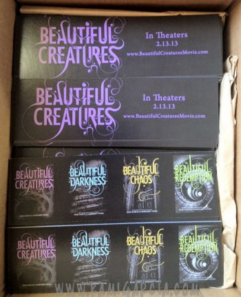 News : Produits Beautiful Creatures, sondage, photo de Thomas