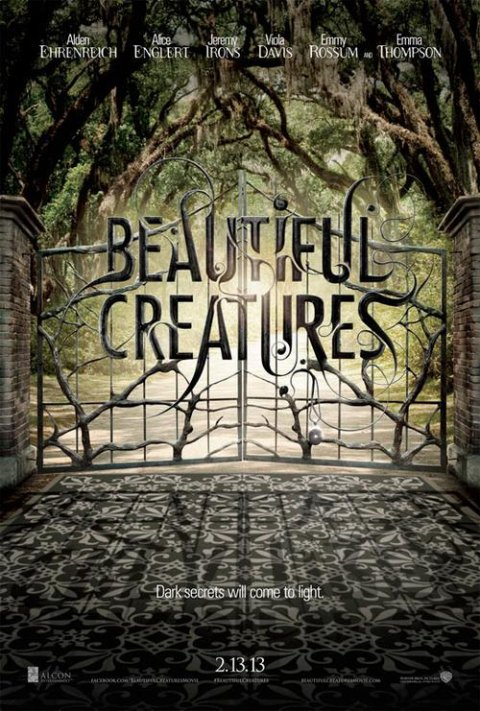 Affiche officielle du film Beautiful Creatures