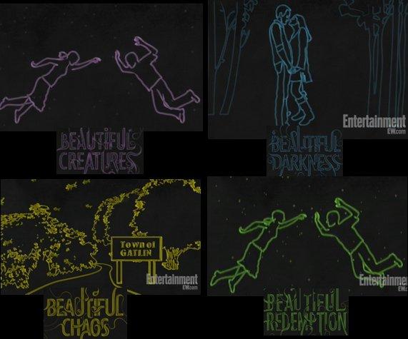 Mini-trailer résumé en dessins des 4 livres de la saga