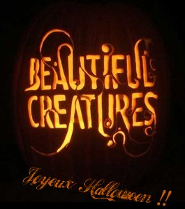 "Citrouille d'Halloween ""Beautiful Creatures"""