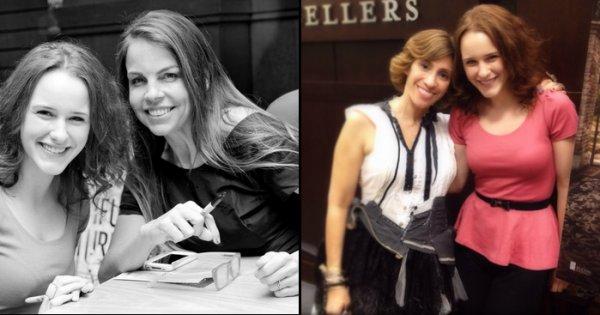 Kami, Margaret, Rachel Brosnahan et Alden Ehrenreich à Barnes & Nobles pour la sortie de Beautiful Redemption