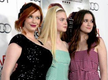 """Alice Englert à l'avant-première de """"Ginger & Rosa"""" au AFI Festival le 7 novembre 2012"""