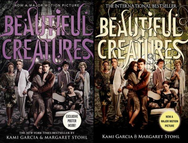 Réédition en VO du livre Beautiful Creatures avec des images du film