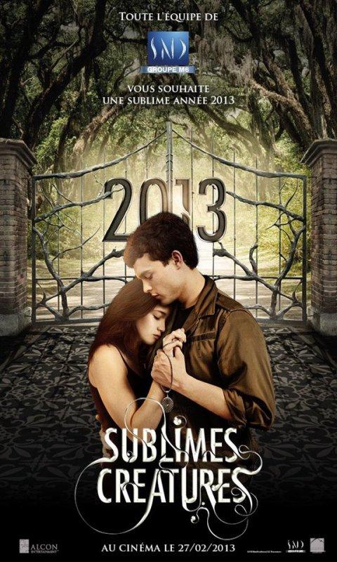 Affiche de bonne année par la SND