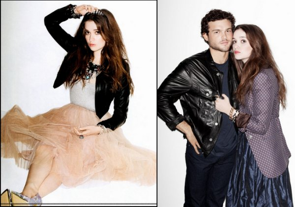 Photoshoot d'Alice et Alden Nylon 2013