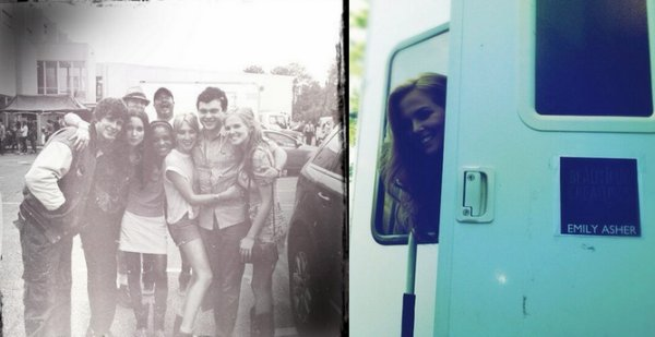 Photos de tournage de Zoey Deutch