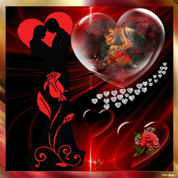Belle St Valentin à tous !!!  Suis une grande romantique