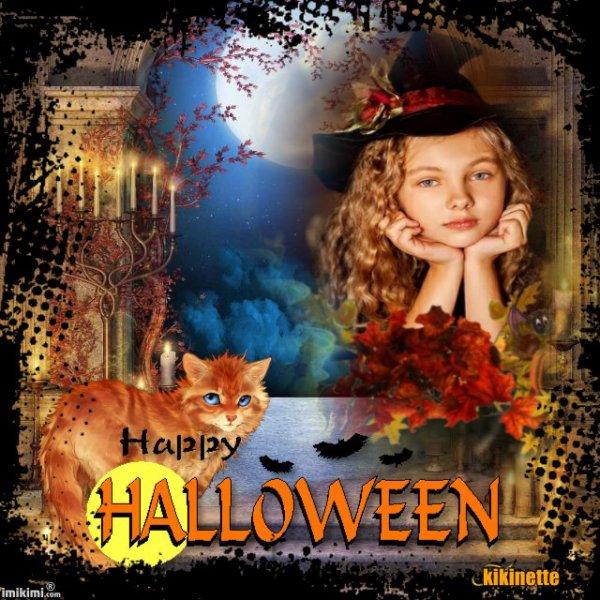 Halloween arrive et les décorations aussi
