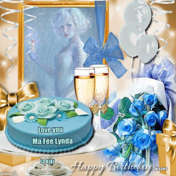 Joyeux Anniversaire ma Lynda d'amour