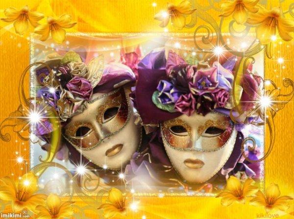 Bonne semaine période de carnaval