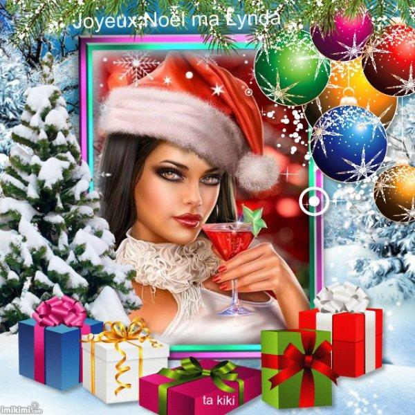 Beau Noël à vous mes amies d'ici