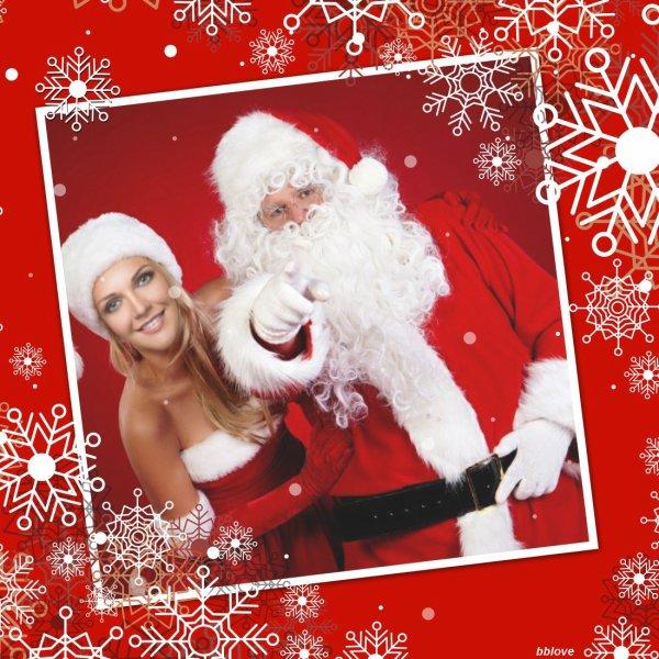 Un beau Noël avec du bonheur à vous tous