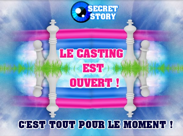 SECRET STORY VIRTUEL SAISON 6 - CASTING OUVERT !