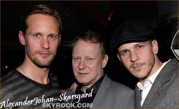 . ● ● ● Skarsgard's family - Le 7 Février 2011 ● ● ●