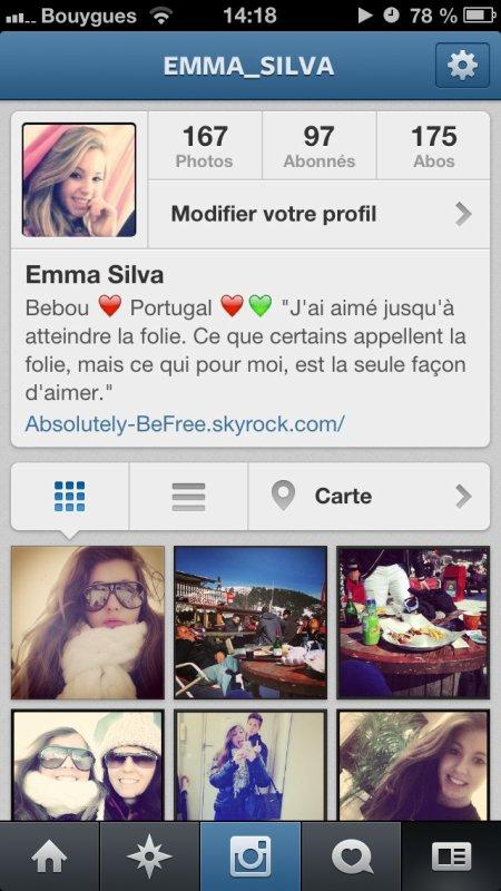 Mon instagram !