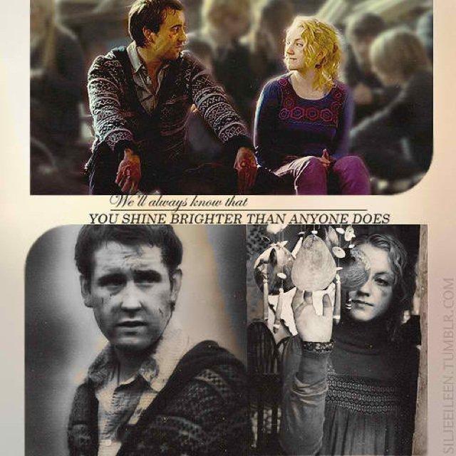 Tu crois que mon coeur s'arrêtera de battre un jour pour toi ? Neville et Luna, Harry et Ginny une magnifique histoire d'amour...