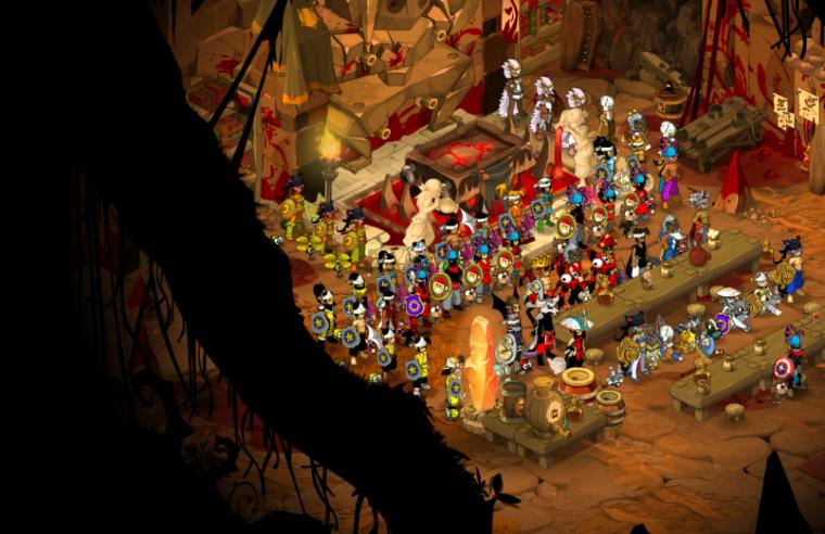 Screen de ma guilde , dommage qu'il manque 3 team sur le screen