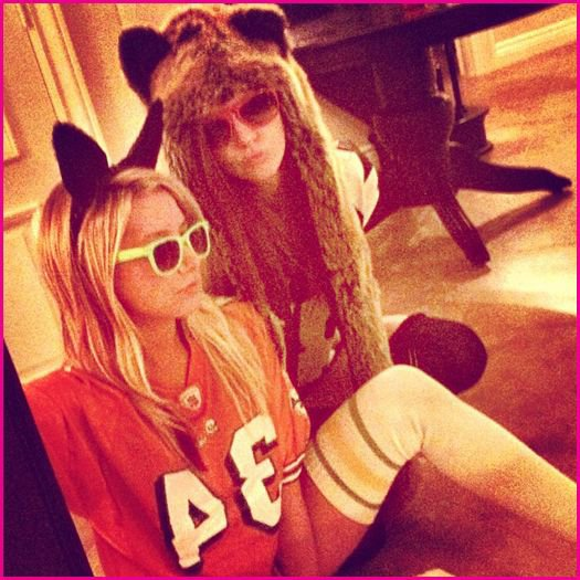 Nessa et Ashley <3