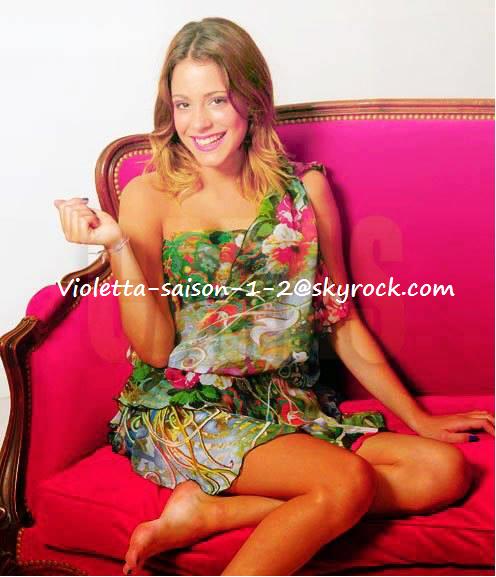 Série Violetta une fois, série Violetta pour toujours !