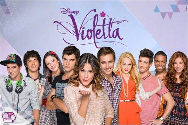 Violetta saison 2 Partie 2 : Lundi 20 janvier de 18h30 à 19h15 sur Disney Channel :-)