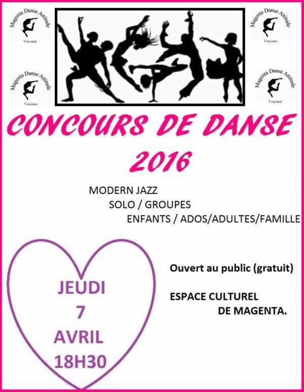 concours de danse 2016