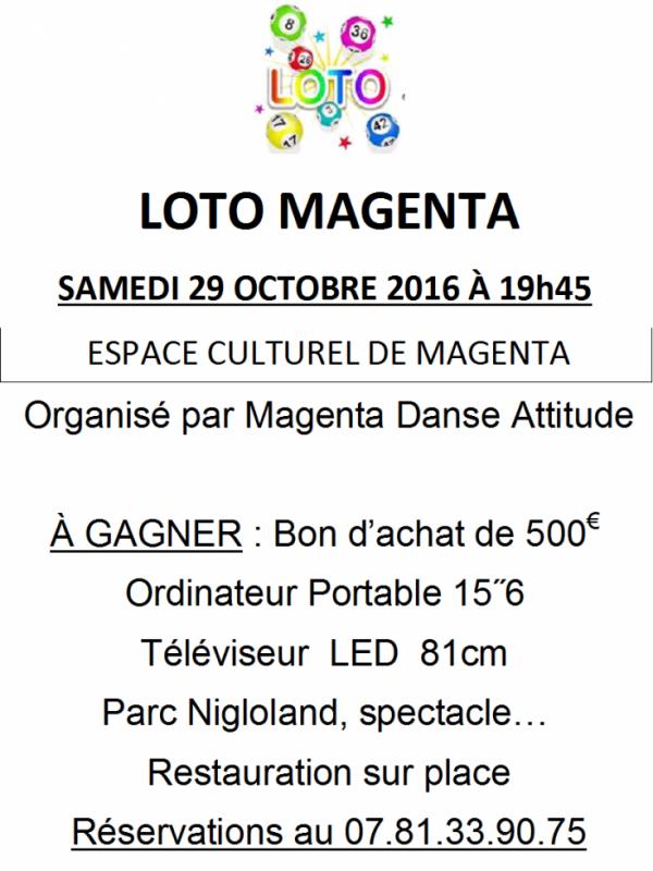 LOTO 29 OCTOBRE2016 VENEZ NOMBREUX !!!!
